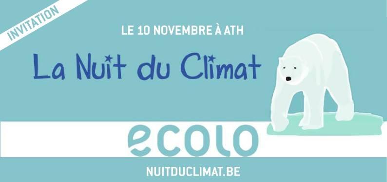 La Nuit du Climat – 10 novembre